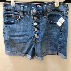 GAP women's jean shorts